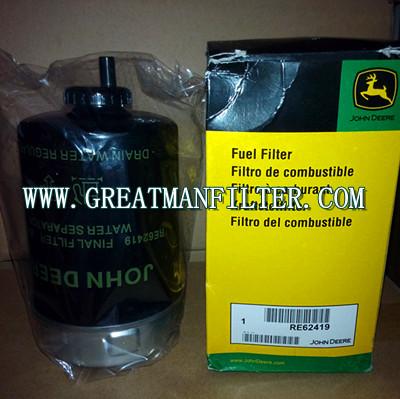 Fuel Water Separator Filter >> JOHN DEERE RE62419-AUTO FILTER,IVECO FILTER,CAT FILTER,MERCEDES BENZ FILTER,SCANIA FILTER,MAN ...