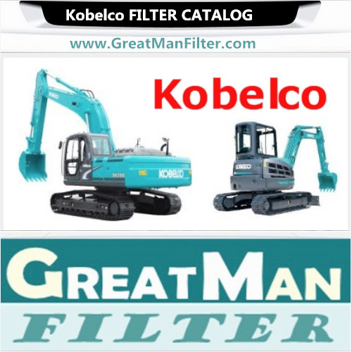 Kobelco Filters Catalog-GREATMAN FILTER FACTORY-CHINA ACTIVE